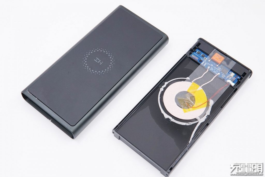 ZMI LevPower M10 Wireless Charging Power Bank (WPB100) Teardown Review-Chargerlab