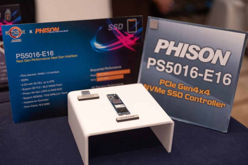 Phison Demonstrates PCIe Gen4, Thunderbolt, and USB3.2 Storage Solutions at USB-PD Asia 2019-Chargerlab