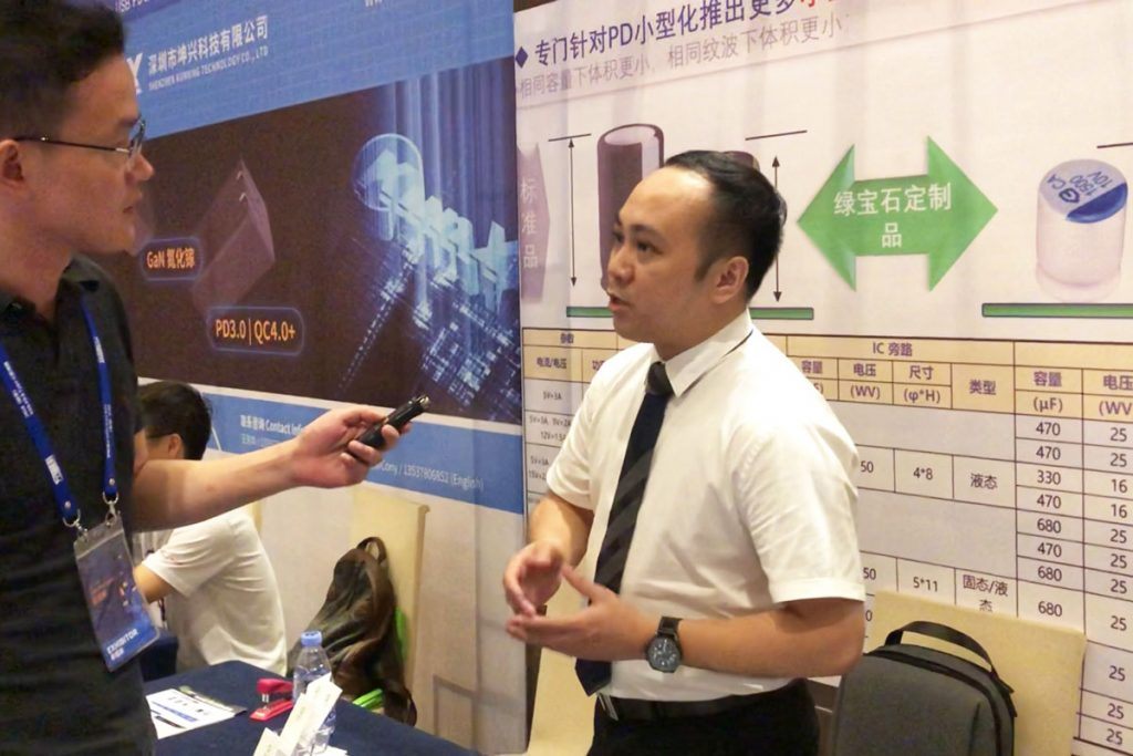 Beryl Showcases Wide Range of Capacitors at USB-PD Asia 2019-Chargerlab
