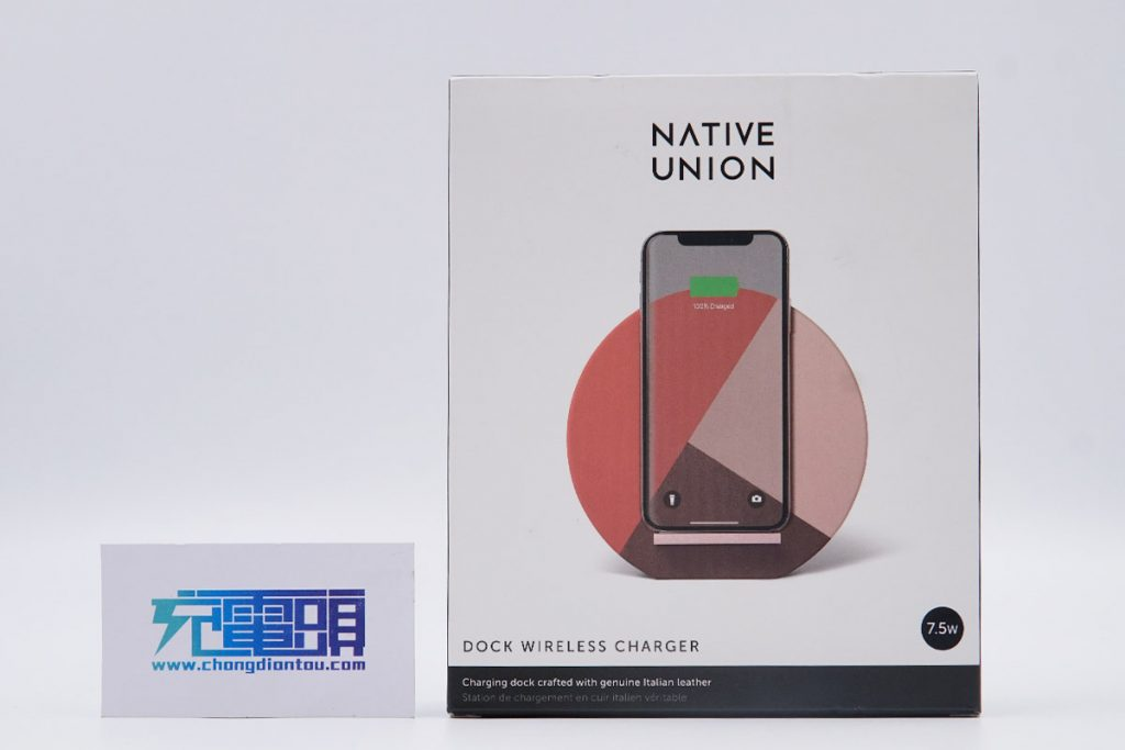 Native Union Dock Marquetry Wireless Charger Teardown Review-Chargerlab