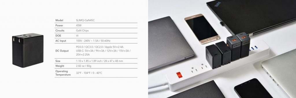 SlimQ Launches World's Smallest 65W Multiport GaN Charger on Indiegogo-Chargerlab