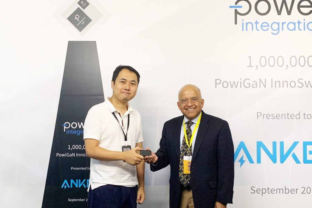 Power Integrations Delivers One-Millionth GaN-Based InnoSwitch™3 IC-Chargerlab