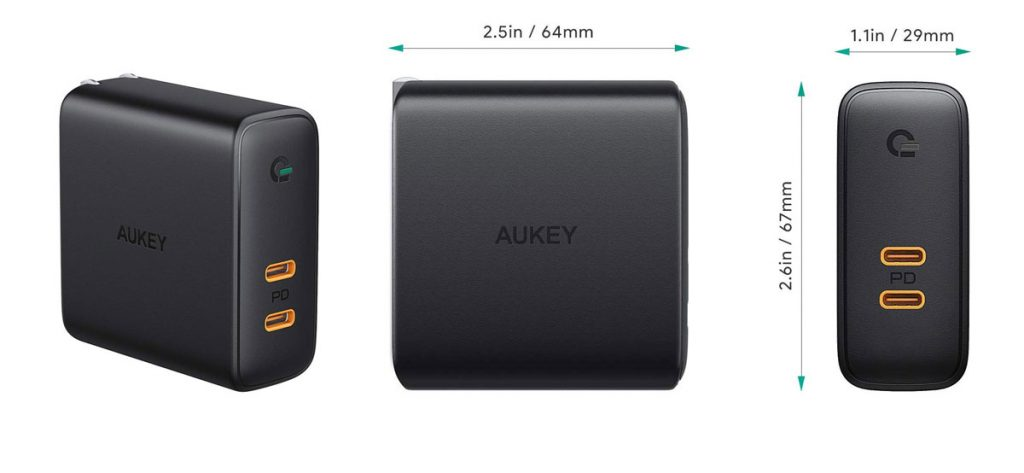 AUKEY Launches New GaN Charger to its Dynamic Detect Lineup-Chargerlab
