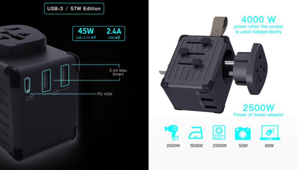 Zikko Launches 45W eLUGGAGE X-max with GaN Tech on Indiegogo-Chargerlab