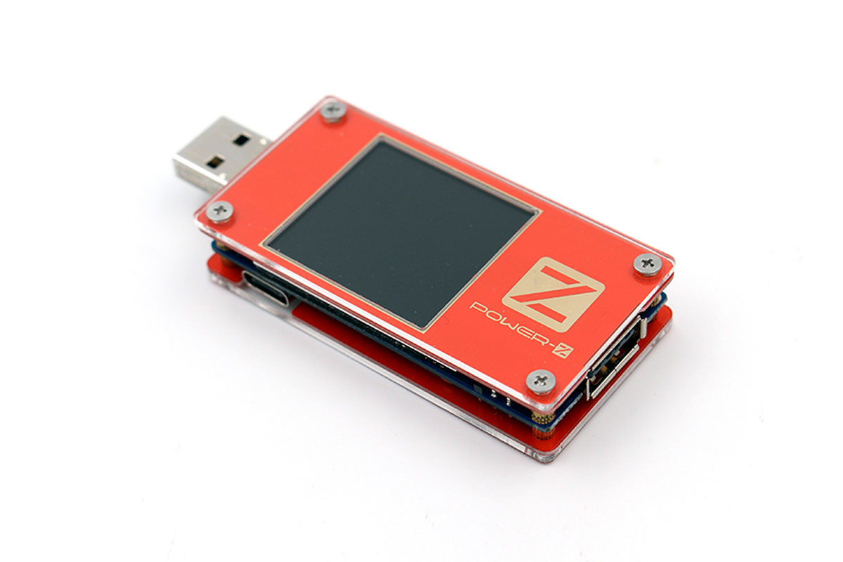 POWER-Z KT001 USB Power Tester with PD QC Trigger and MFi Identification-Chargerlab