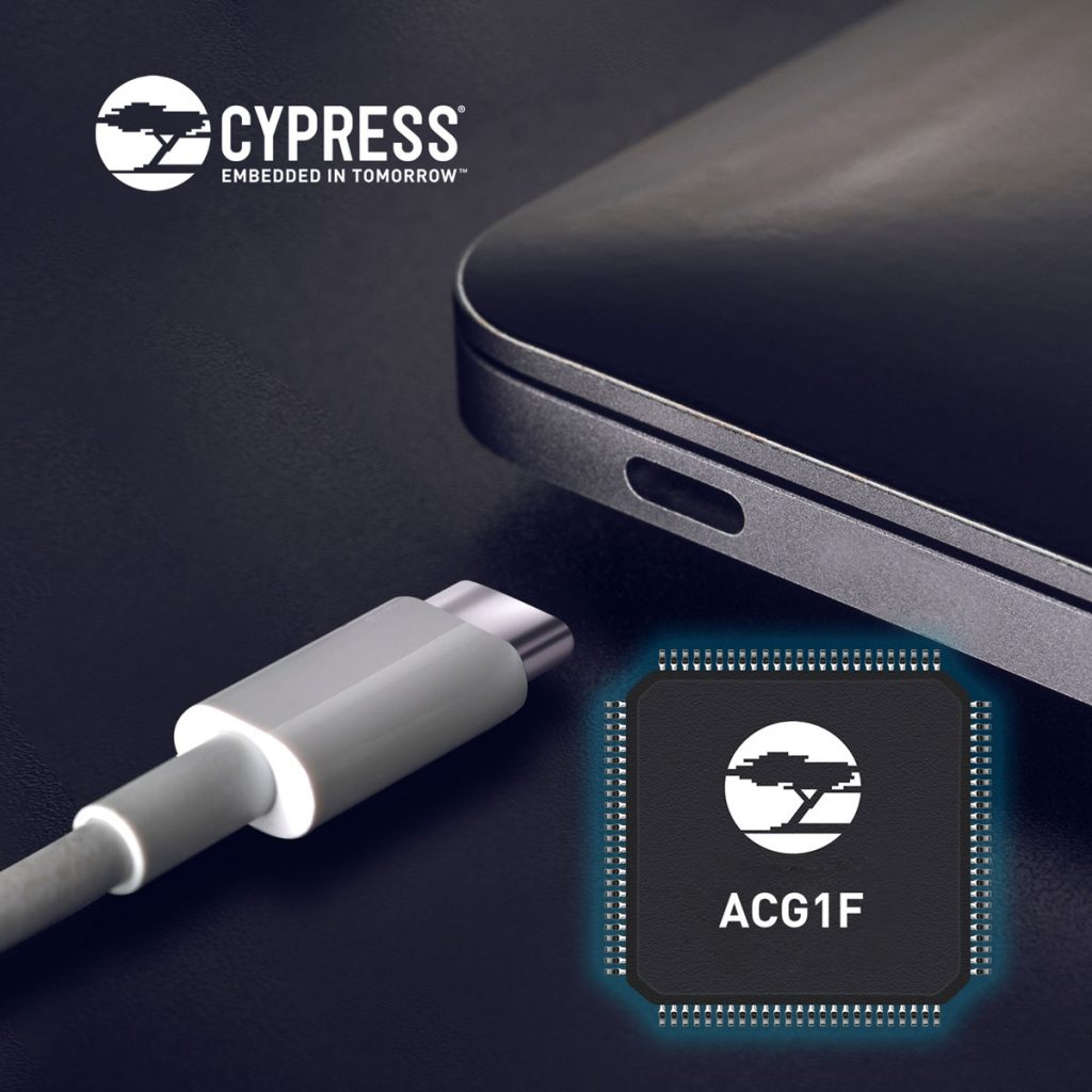 Cypress Introduces USB-C Controller for High-Volume Segments in PC Market-Chargerlab