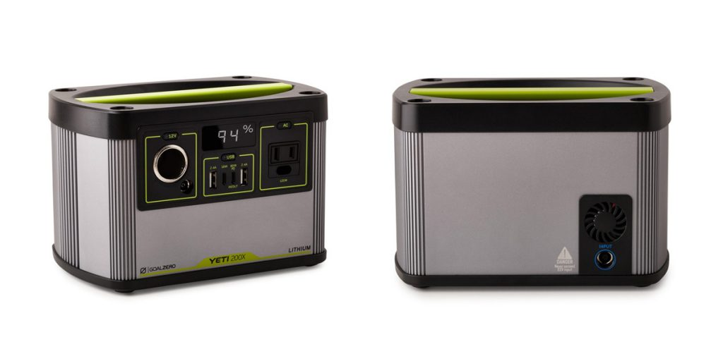 Goal Zero Releases Lightweight Power Station Yeti 200X with AC Outlet and USB-C PD-Chargerlab