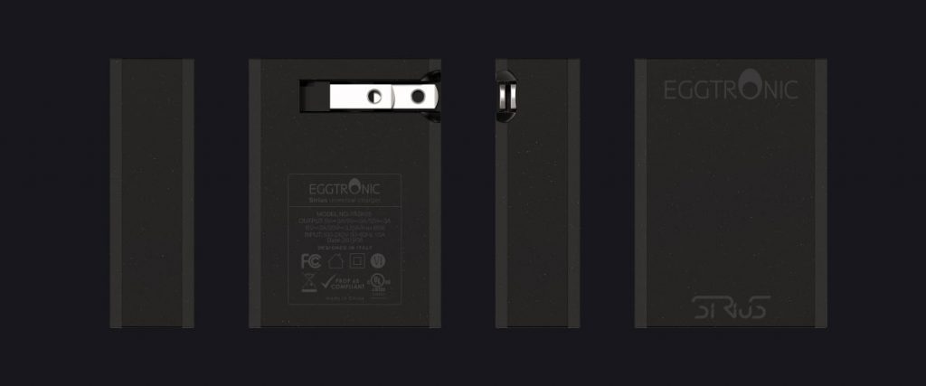 Eggtronic Releases Sirius, the World's Smallest Foldable 65W Charger with GaN Tech-Chargerlab