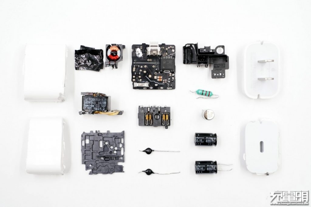 Apple 18W USB-C Power Adapter A1695 Teardown Review: Beautiful Inside and Out-Chargerlab