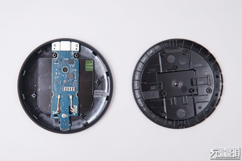 Samsung Wireless Charger Pad Slim (EP-P1100) Teardown Review-Chargerlab