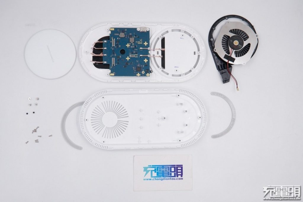 Samsung Wireless Charger Duo Pad (EP-P5200) Teardown Review-Chargerlab