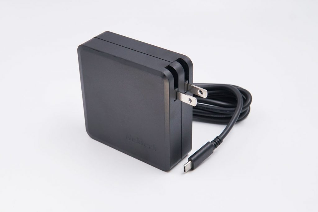 Nekteck 90W PD Charger with Built-in Cable Quick Review-Chargerlab