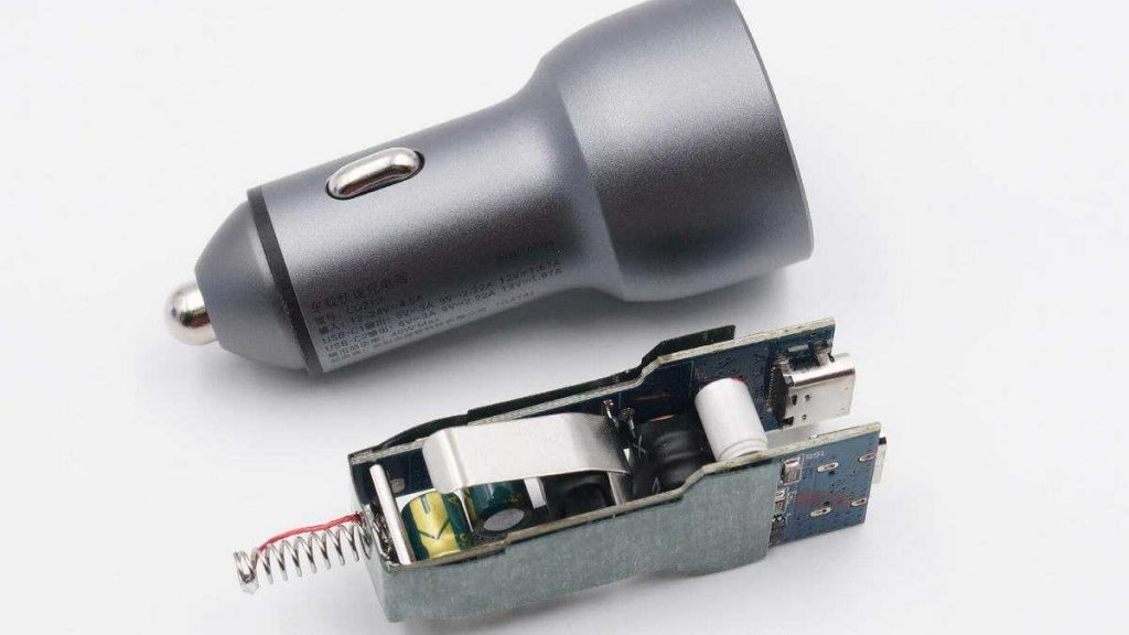Teardown Report - UGREEN 40W Dual Type-c Port Fast Car Charger-Chargerlab