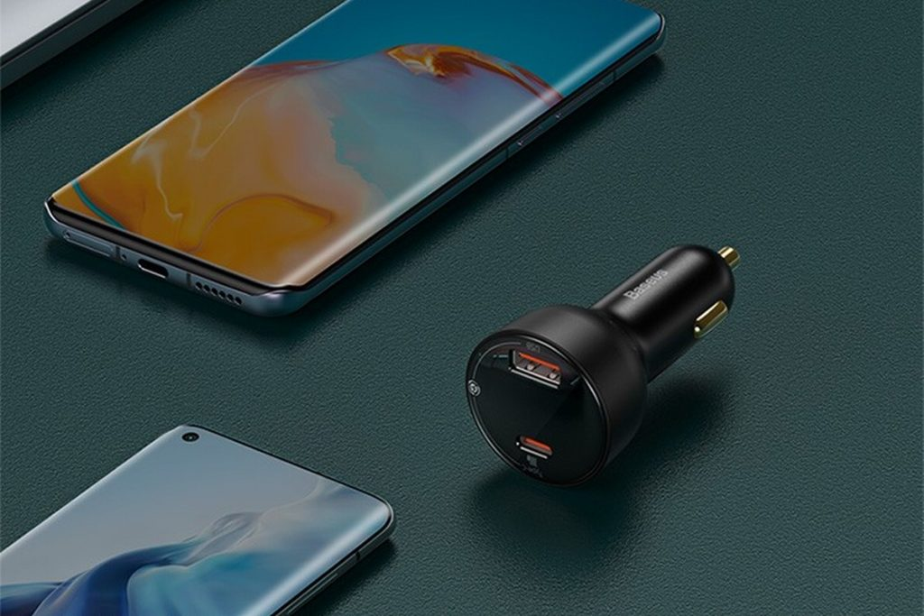 Baseus Launches 100W 1A1C Fast Car Charger, With Multi-function Power Display-Chargerlab